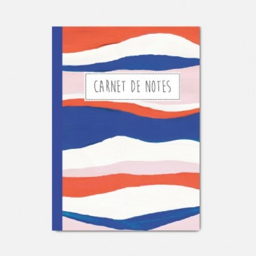 Carnet de notes motifs colorés par Pascale Éditions