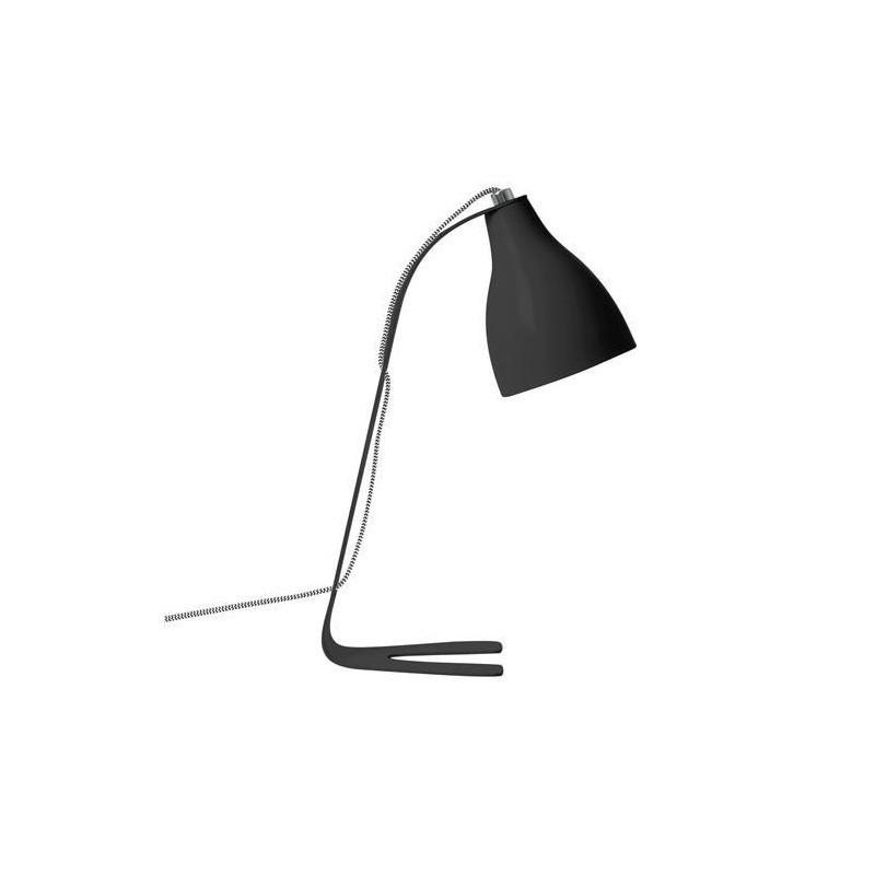 Lampe à poser Barefoot noire par Leitmotiv / Present Time