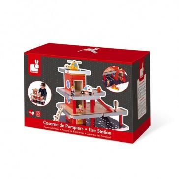 Boîte de la caserne de pompiers de la marque Janod