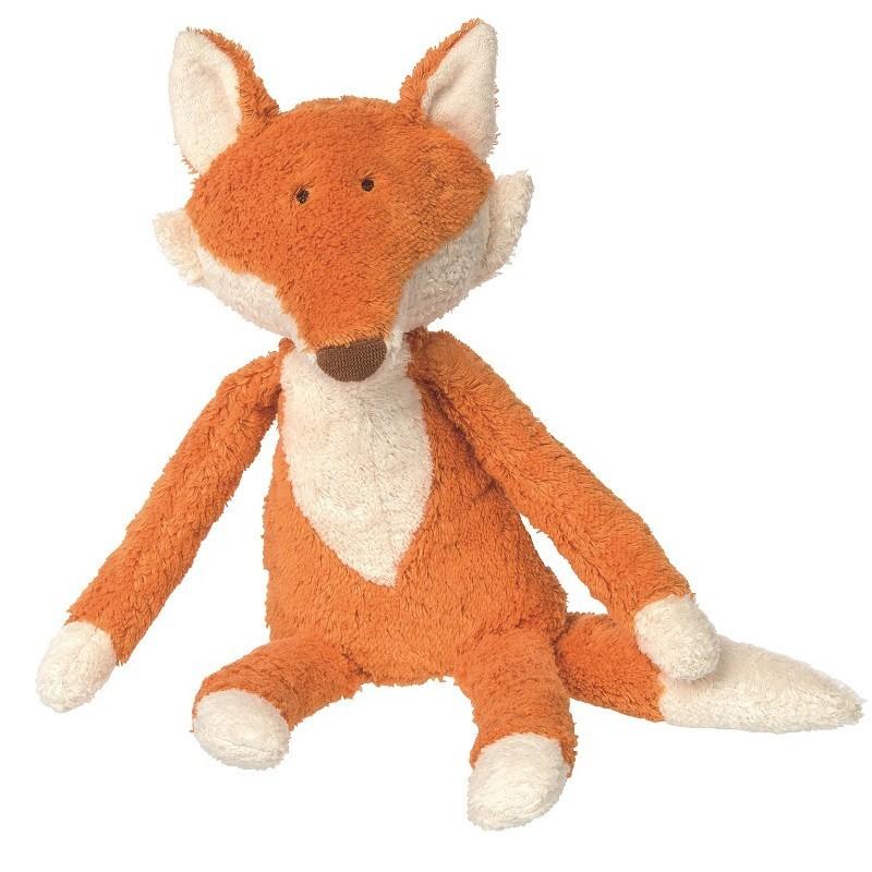 Peluche en coton bio par Sigikid modèle renard roux