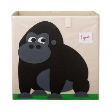 """Cube de rangement pliable """"Gorille"""" par 3 Sprouts"""
