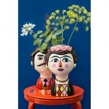 Couple de vases en céramique par la marque Kitsch Kitchen