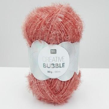 Pelote de laine à crocheter vieux rose par Rico Design