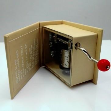 Mécanisme de la boîte à musique La vie en rose d'Edith Piaf par Protocol