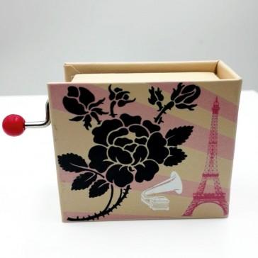 Illustration de la boîte à musique La vie en rose d'Edith Piaf par Protocol