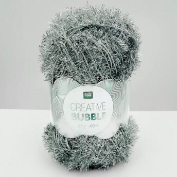 Pelote de laine Creative Bubble argent par Rico Design