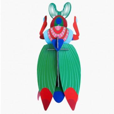 Décoration à assembler en scarabée par studio ROOF