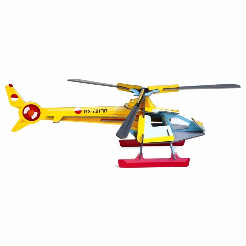 """Objet décoratif à assembler """"Cool Helicopter"""" par studio ROOF"""