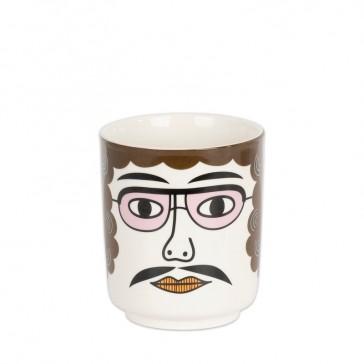 Pot en céramique pour une fleur ou des stylos, modèle Pablo par Kitsch Kitchen