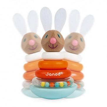 Jouet pour enfant qui culbute et fait du bruit par Janod