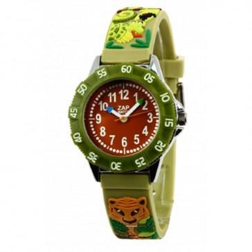 """Montre pédagogique avec livret d'apprentissage """"Jungle"""" par Baby Watch"""
