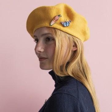 Pins pour décorer son chapeau, béret, par studio ROOF
