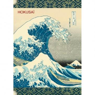 Carnet à mots de passe modèle Hokusai par Gwenaëlle Trolez