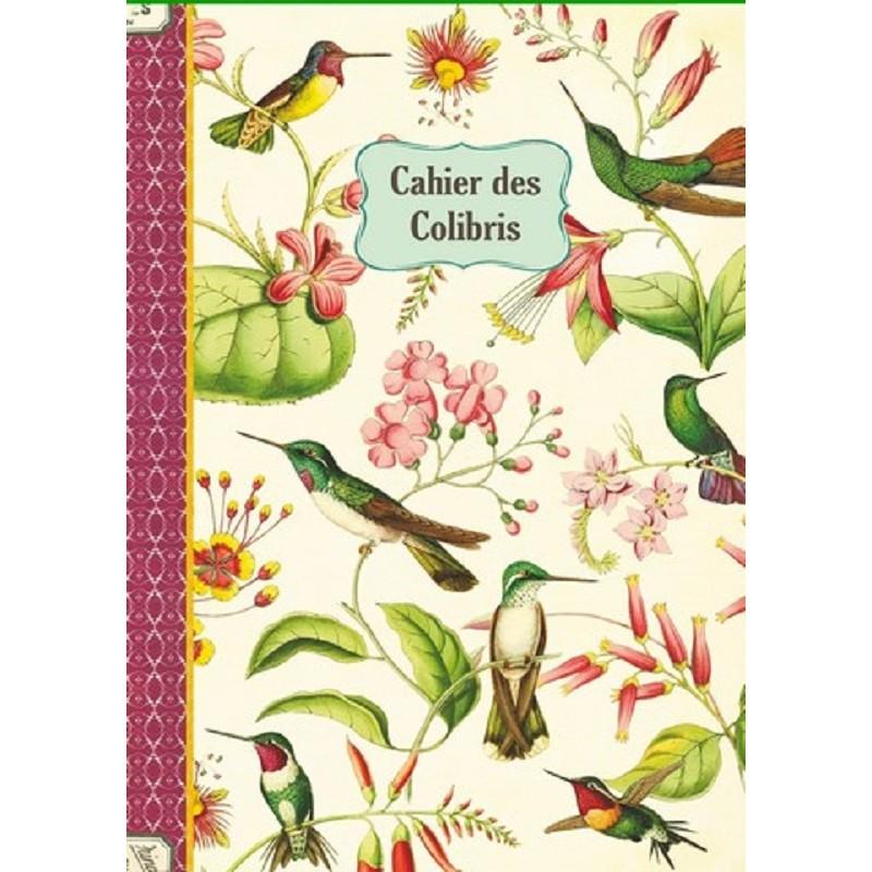 """Cahier imagier """"Colibris"""" par Gwenaëlle Trolez"""