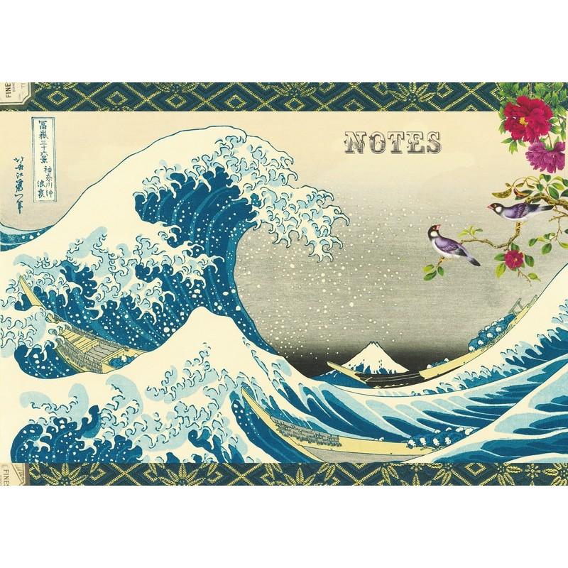 Cahier illustré d'estampes japonaises par Gwenaëlle Trolez