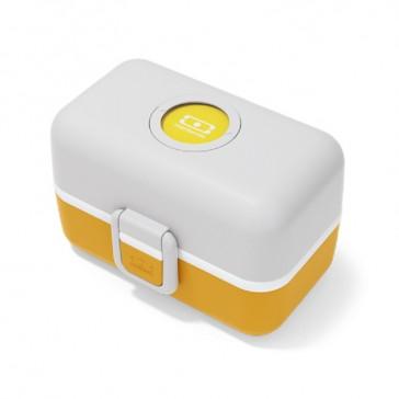 """Lunch box pour enfants jaune """"MB Trésor Moutarde"""" par Monbento"""