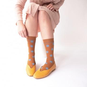 Chaussettes modèle Pois caramel de la marque Bonne Maison