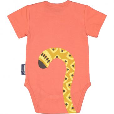 Dos du body Cheetah avec queue de bébé guépard par coq en pâte