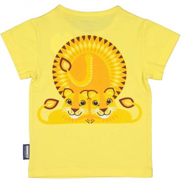 Dos du t-shirt en coton bio Lion de la marque Coq en pâte