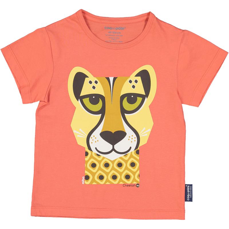 """T-shirt """"Guépard"""" par Coq en Pâte"""