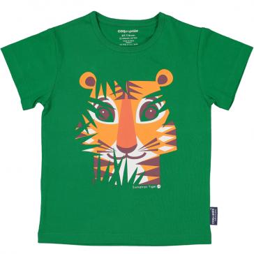 """T-shirt """"Tigre"""" par Coq en Pâte"""