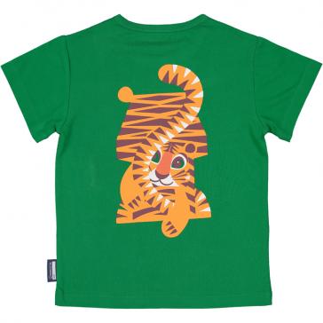 Top enfant en coton bio Tigre par Coq en Pâte