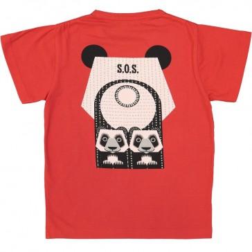 Dos du t-shirt pour enfant Panda de la marque Coq en Pâte