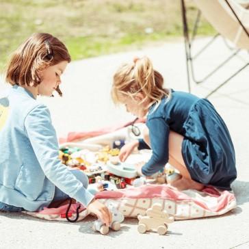 Tapis de jeux qui se transforme en sac à jouets par Play&Go