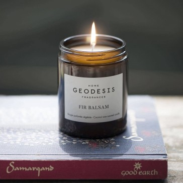 """Bougie végétale Geodesis, fragrance """"Fir Balsam"""" de la collection Nature"""