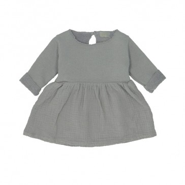 "Robe ""Kensi"" gris tempête par Heart of Gold"