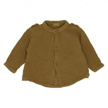 """Chemise pour enfant """"Hope"""" couleur bronze par Heart of Gold"""