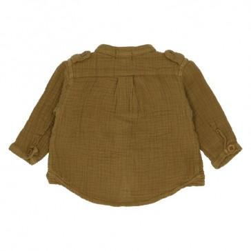 Dos de la chemise Hope couleur bronze de la marque Heart of Gold