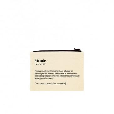 """Pochette en coton bio """"Mamie"""" par Hindbag"""