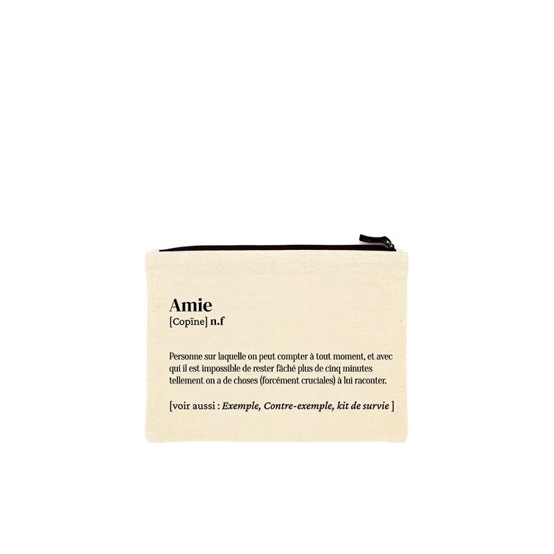 """Pochette avec définition de """"Amie"""" par Hindbag"""