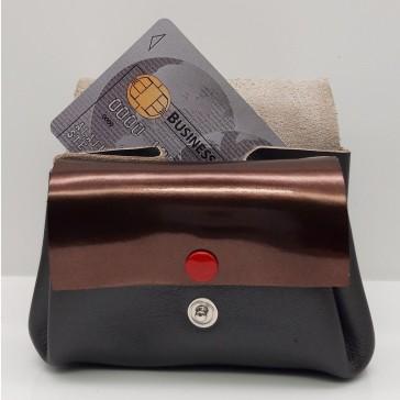 Porte-carte et compartiments pour pièces du porte-monnaie des familles de Bandit Manchot