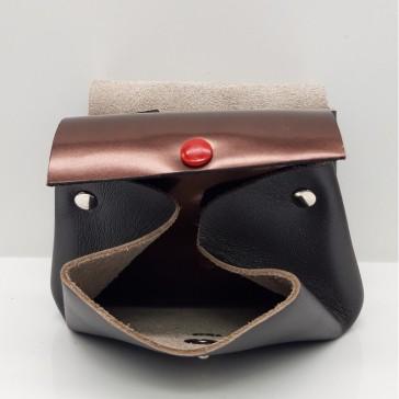 Petit format du Compagnon des familles en cuir de Bandit Manchot