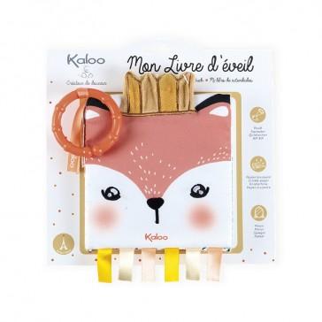 """Packaging du livre d'éveil """"Le renardeau colérique"""" par Kaloo"""