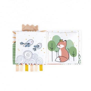 """Livre d'éveil pour bébé par Kaloo """"Le renardeau colérique"""""""