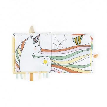 """Livre d'éveil """"La licorne joyeuse"""" pour apprendre l'enthousiasme par Kaloo"""
