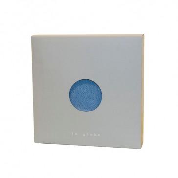 """Packaging du luminaire """"Globe moyen azur"""" par La Case de Cousin Paul"""