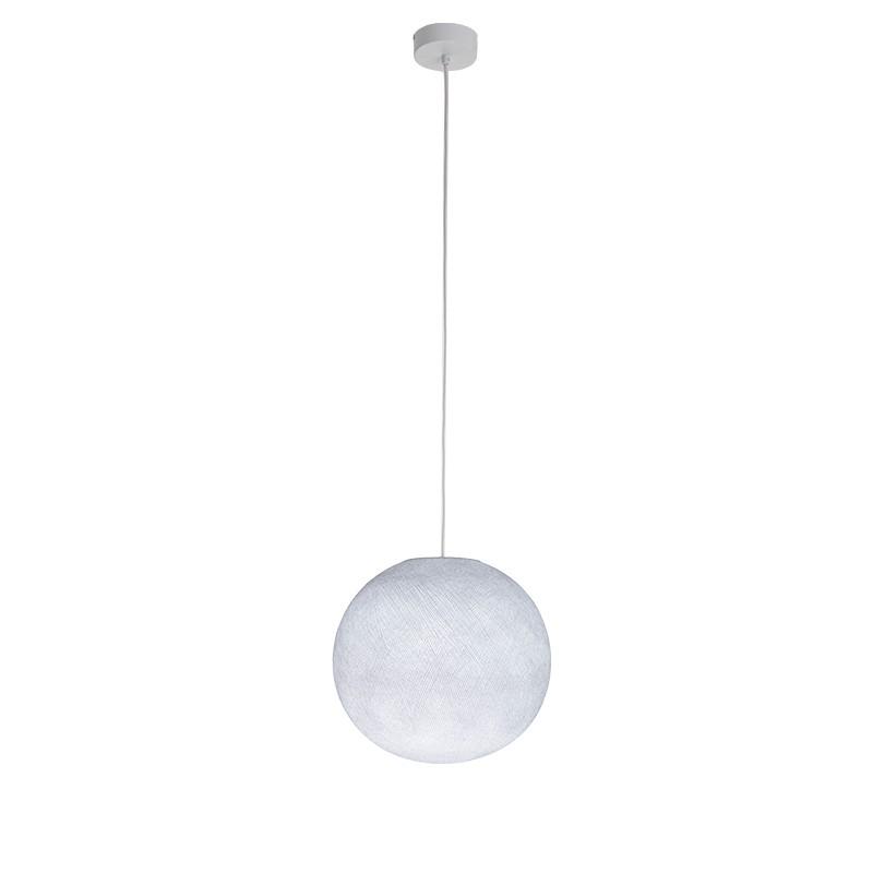 """Luminaire """"Globe petit blanc"""" par La Case de Cousin Paul"""