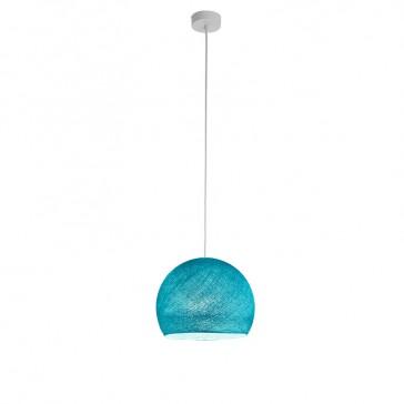 """Luminaire """"Coupole petit modèle turquoise"""" par La Case de Cousin Paul"""