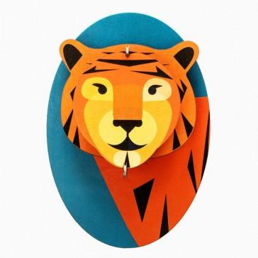 """Décoration murale à assembler """"Little Tiger"""" par studio ROOF"""