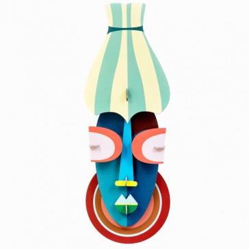 """Décoration murale """"Manhattan mask"""" par studio ROOF"""