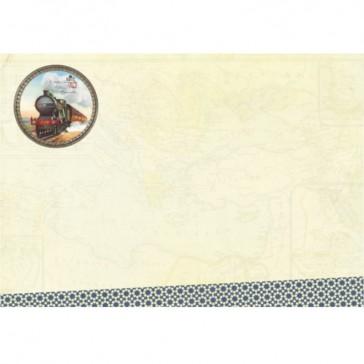 Carnet de voyage modèle Jules Verne par Gwenaelle Trolez