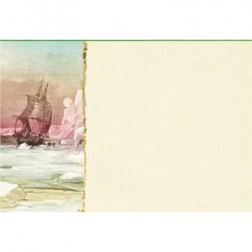 Page illustrée du cahier Jules Verne par Gwenaëlle Trolez