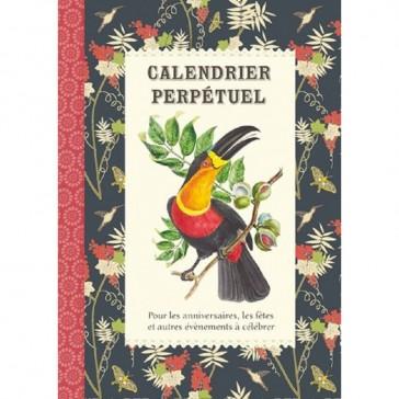"""Calendrier perpétuel """"Oiseaux"""" par Gwenaëlle Trolez"""