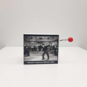 "Boîte musicale ""Chaplin Modern Times"" par Protocol"