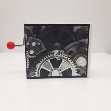 Boîte à musique Protocol, sur le thème de Charlie Chaplin