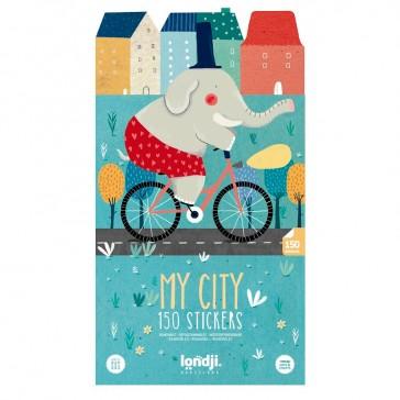 "Stickers ""My city"" par Londji"